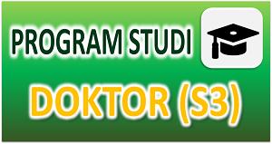 Program Studi Doktorl S3